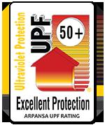 ARPANSA UPF 50+ Rating